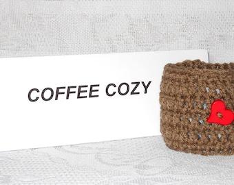 Crochet Coffee Cozy Coffee Cup Cozy