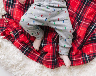 Baby leggings, Christmas baby Leggings, baby holiday leggings, baby leggings, toddler leggings
