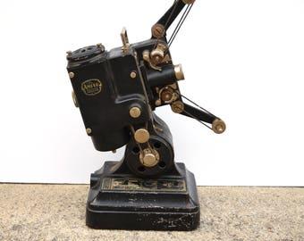 Vintage Movie Projector Ampro Precision Pat Pending Old Collectible Decor