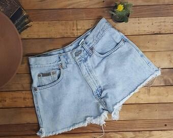 Sz3 Calvin Klein Shorts 90s Vintage highwaisted