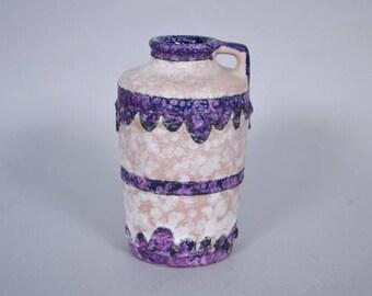 West German  Marei Keramik  vase -  decor Brügge -9300
