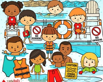 Water Safety Clip Art