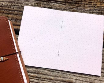 Traveler's Notebook A6 Size Dot Inserts