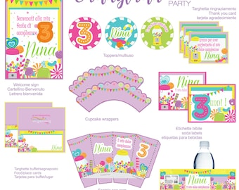 CANDY SHOP printable party