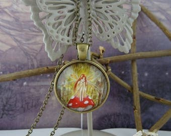 ♥ Woodland Wish Fairy Pendant ♥