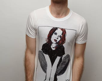"""Shirley Manson """"Queerest of the Queer"""" White T-shirt"""