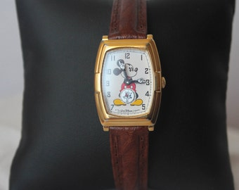 SEIKO Mickey Mouse Disney Womens' Watch with Seconds Dial