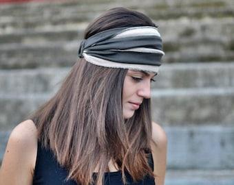 Olive Headband, Cream Headband, Beige Head Wrap, Head Wrap, Sports Headbands, Wide Headband, Womens Turban, Turban Headband, Womens Headband