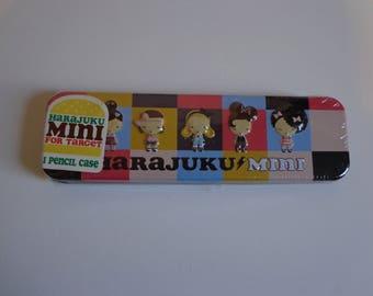 Collectible Kawaii Harajuku Lovers Mini Tin Pen & Pencil Case Destash Sale! Cute Ephemera Stationery Organizer New in Package Gifts