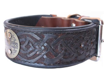 Celtic Inspired Dog Collar