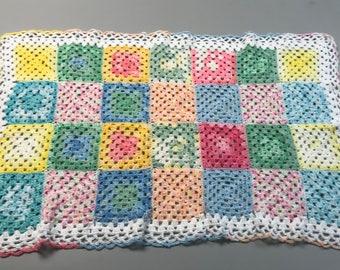 NEW crocheted baby blanket/afghan