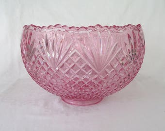 LE Smith Pineapple Cupped Punch Bowl