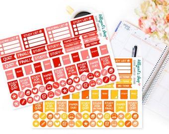 School Stickers - Planner Stickers