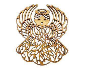 Angel Ornament - Christmas Angel - Angel Ornaments - Angel Gifts - Intricate Angel - Angel Gift - Angel Decor - Angel Decorations