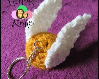 Golden Snitch Keyring