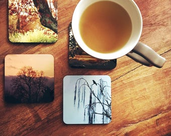 Tree Collection Coaster Set