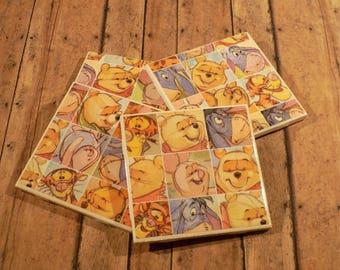 Winnie The pooh - Disney - Coaster Set