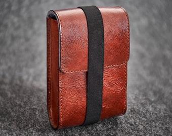 Leather Felt Camera Case Box Hand-made Nikon 35Ti