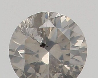 2.20 MM 0.043 Ct Natural Loose Diamond Round Shape Fancy White Color I1 K3145