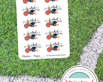 Pep Rally Planner Stickers