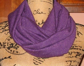 Infinity Pocket Scarf, travel scarf, secret pocket scarf, money pocket scarf, cell phone pocket