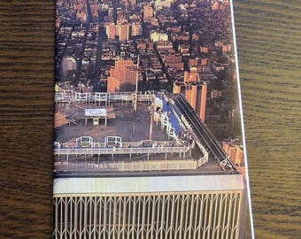 New York Begins at the World Trade Center Brochure 1986