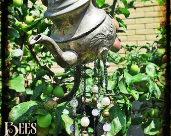 Coffee Pot Wind Chime - Vintage
