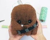 CHEWIE soft monster -Plush Monster,Plush,Toy Stuffed Monster,Cute Monster,Plushie Monster,Doll Friendly Monster,Plush Gift