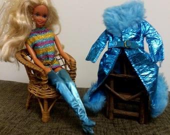 Vintage Mod Barbie Maxi 'N Midi #1799 Outfit