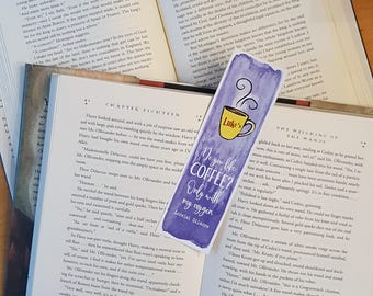 Gilmore Girls - Do you like coffee? Only with my oxygen - Bookmark