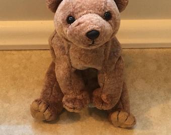 Brown Bear Beanie TY