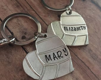 Volleyball Keychain, Volleyball Gifts, Volleyball Coach Gift, Volleyball Senior Player Gift, Volleyball Team Gifts, Volleyball Bag Tag