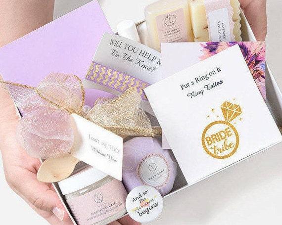 Proposal Spa Gift Proposal Gift Ideas Bridesmaids Gifts