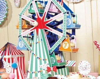 Ferris Wheel Cupcake Holder-Circus Party Decoration-Cupcake Holder-Circus Birthday- Meri Meri-Carnival Party