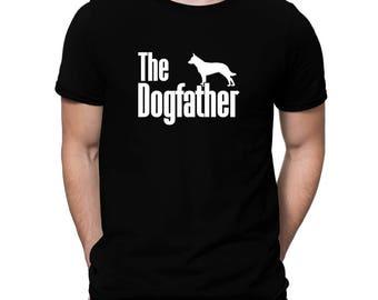 The dogfather Blue Heeler T-Shirt