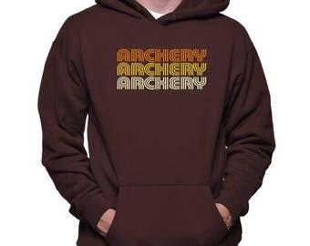 Archery Retro Color Hoodie