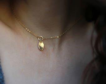 Gold Choker Necklace Dainty gold jewelry dainty gold necklace gold filled necklace delicate jewelry 90s necklace short necklace gold jewelry