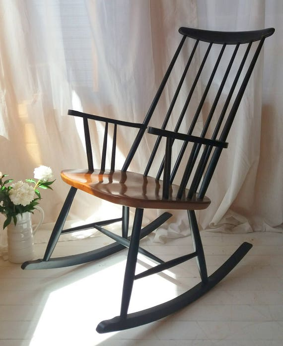 Rocking Chair By Austrian Architect And Designer Roland