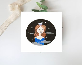 Queen of the Stars Print