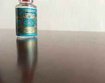Vintage4711 Eau De Cologne, GermanyNumber 4711, Miniature Perfume Bottle, Bottle of scent, gift