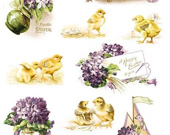 Easter Decoupage Rice paper #R826