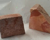 5lb's of Minnesota Sacred Pipestone Rocks most are 2 by 3 inch chunks please contact me if you want more or less