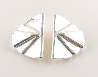 Sterling Silver Varsano Earrings (14.4 grams tw)