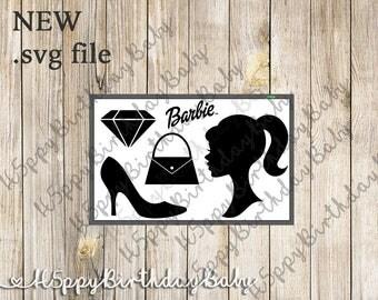 Barbie Bundle SVG CUT FILE*** For Cricut / Silhouette...etc