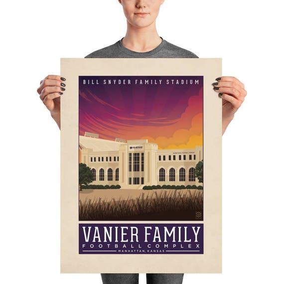 Bill Snyder Family Stadium Matte Litho Print
