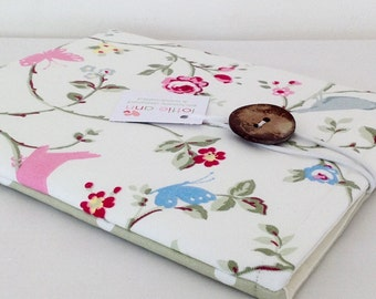 iPad Cover, Bird Trail iPad Cover, iPad Case, Tablet Cover, Tablet Case, Tablet Sleeve, iPad Sleeve, Floral iPad Case, iPad Accessory, Gift