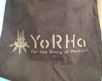 NieR Automata: End of YoRHa drawstring bag