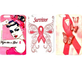 Iphone Cell Phone Case 6/6 Plus, 6s Plus 7/7 Plus,Breast Cancer Cell Phone Cover