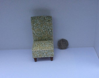Victorian Sewing Chair in 1/12th scale
