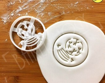Prophase cookie cutter | Mitosis biscuit cutters cell cycle Microbiology Microbiologist mitotic laboratory science microorganism chromosome